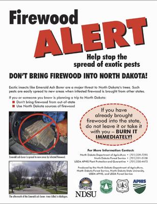 Firewood Alert ND
