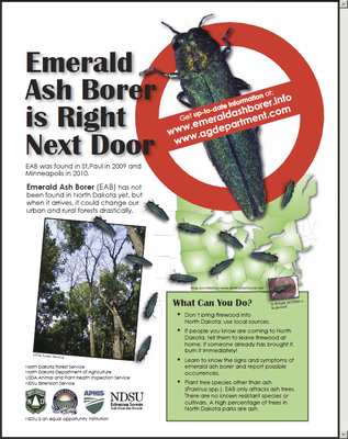 EAB is Right Next Door for ND parks and Recreation